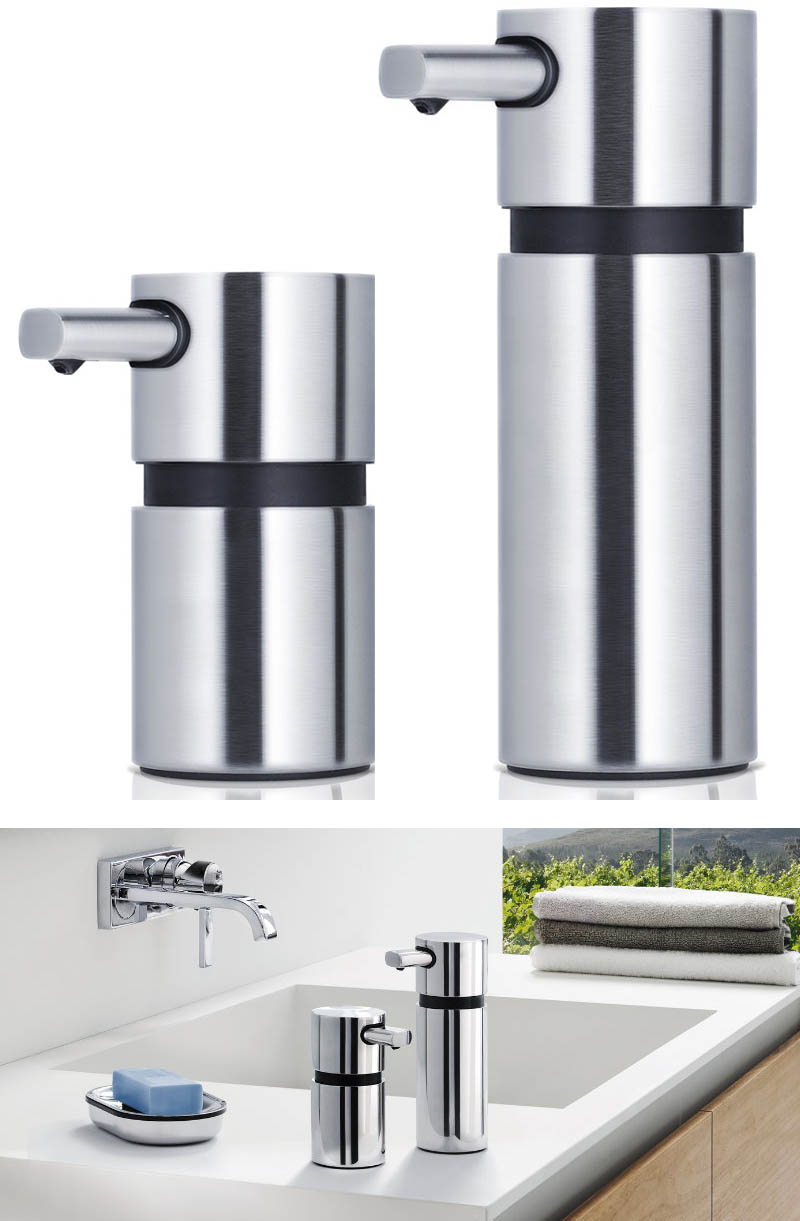 Bathroom Accessories, AREO Soap Dispenser, Stainless: NOVA68.com