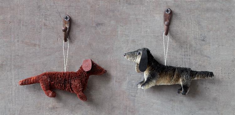 Christmas Tree Decorations For Dogs : Dachshund dog christmas tree ornaments nova