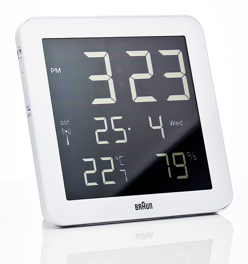 Braun Digital Wall Clock NOVA68com