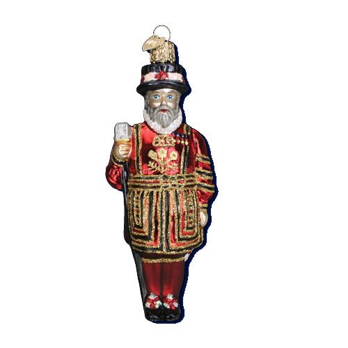 Buckingham Palace Beefeater Guard Christmas Tree Ornament