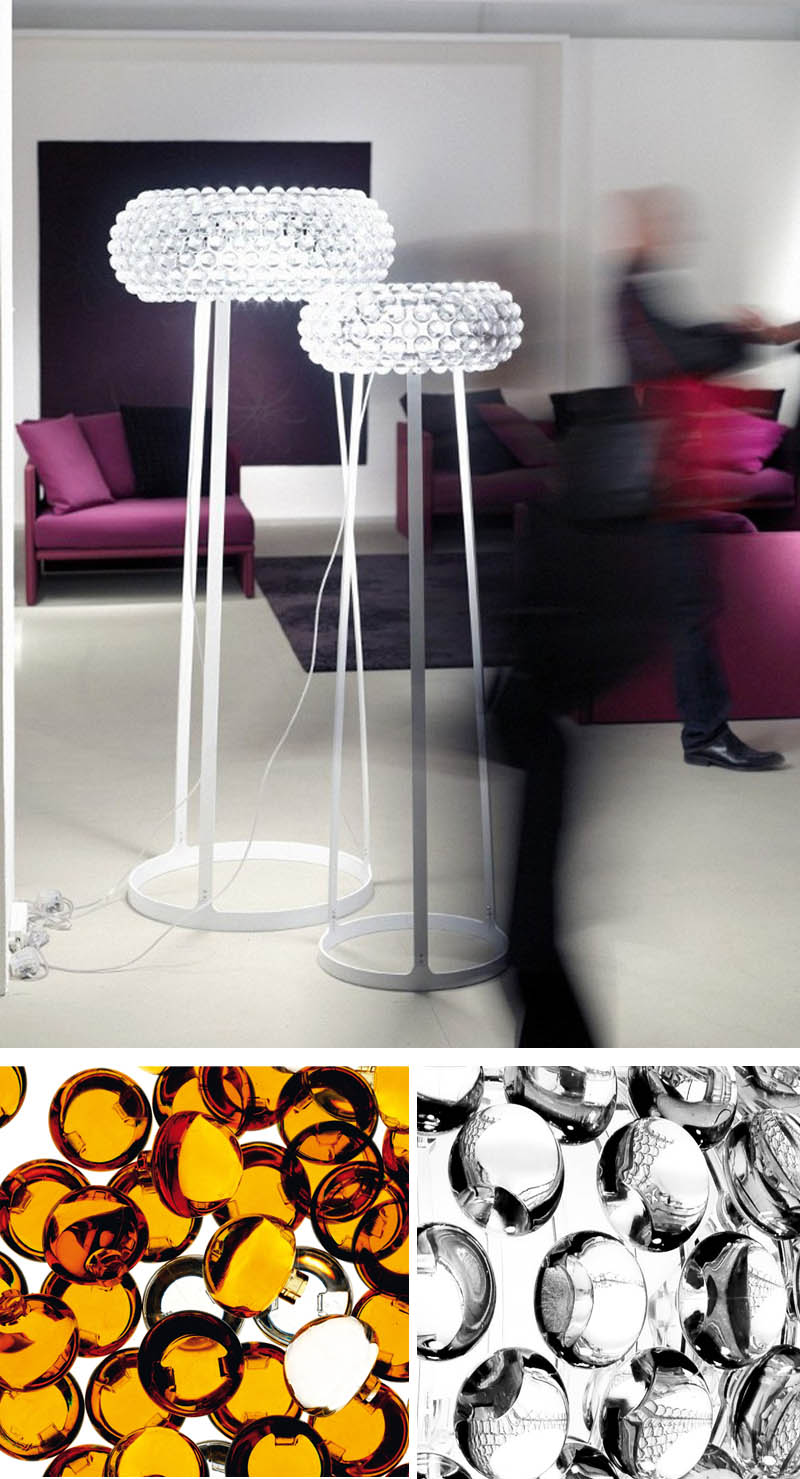 caboche floor lamp nova68 modern design. Black Bedroom Furniture Sets. Home Design Ideas
