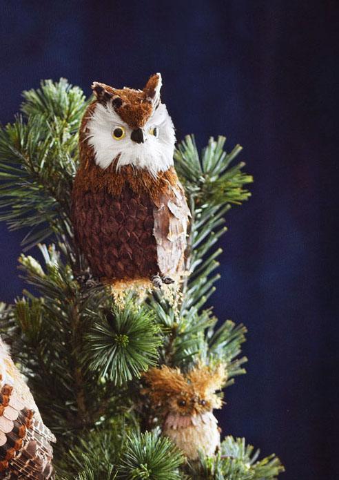christmas owl tree topper | NOVA68 Modern Design