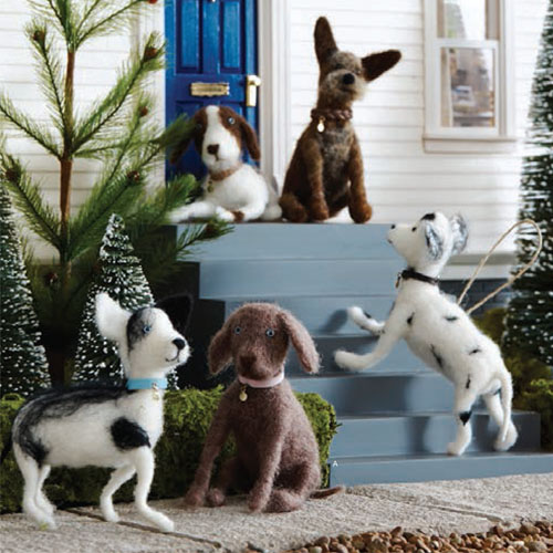 5 X Doggie Dog Breed Christmas Tree Ornaments Nova68 Com