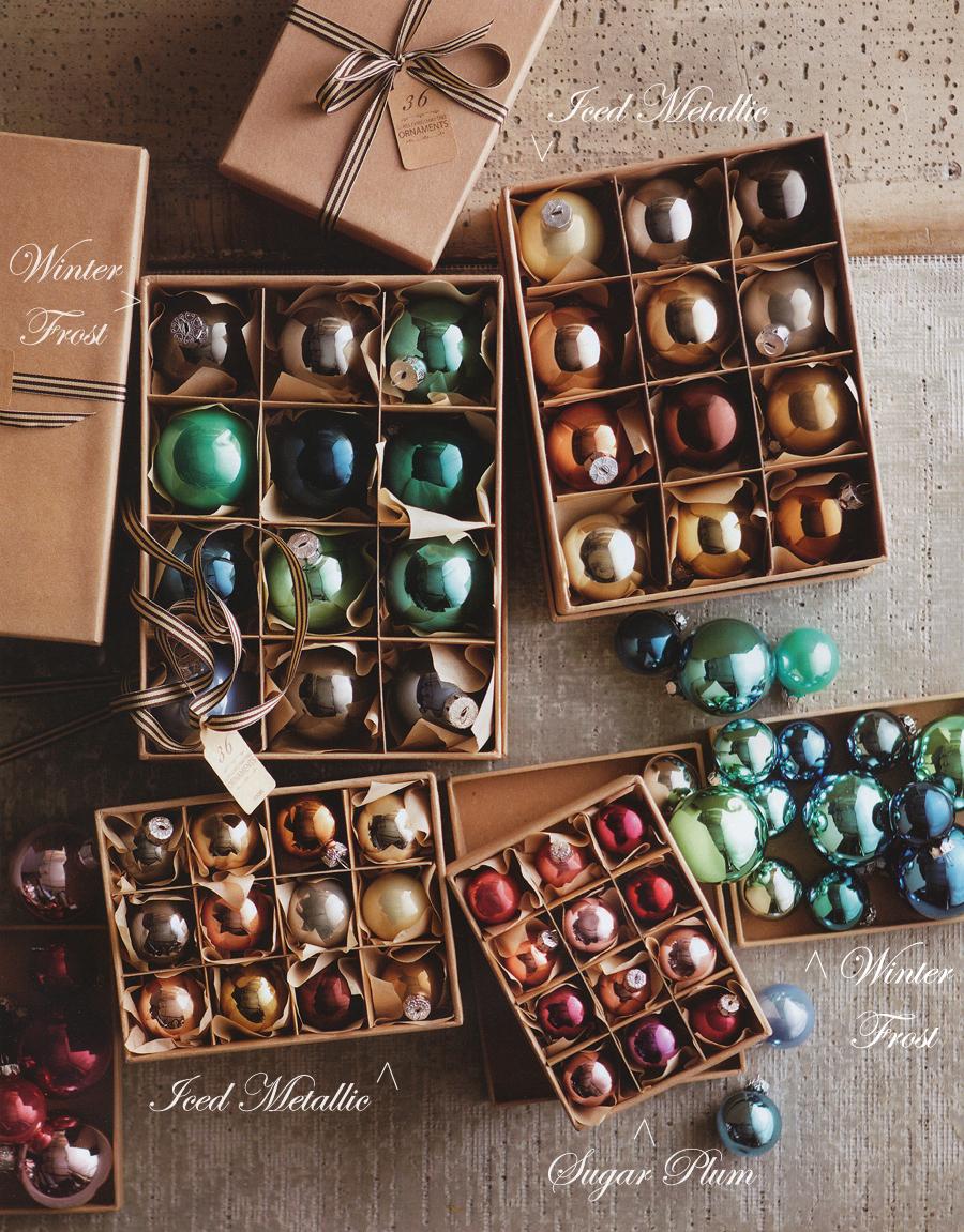 Classic Christmas Tree Ball Ornaments Set Of 24 NOVA68com