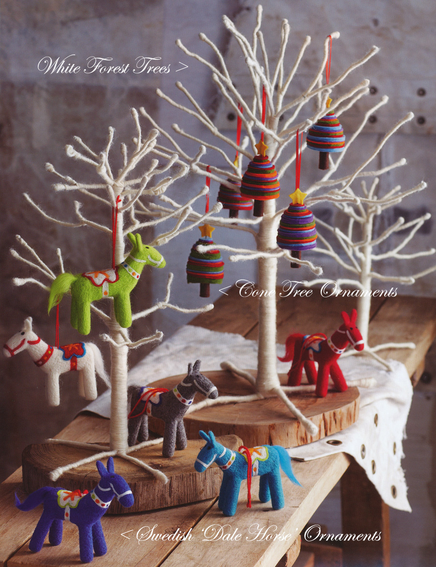 Christmas ornament sets for tree - Star Topped Cone Tree Christmas Tree Ornaments Set Of 10