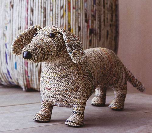 Clever The Dog: Dachshund Home Decor Sculpture