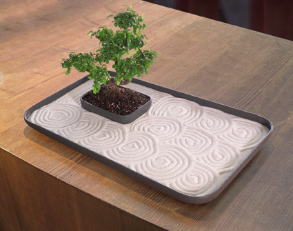 deluxe zen garden for indoor patio garden nova68 modern design. Black Bedroom Furniture Sets. Home Design Ideas