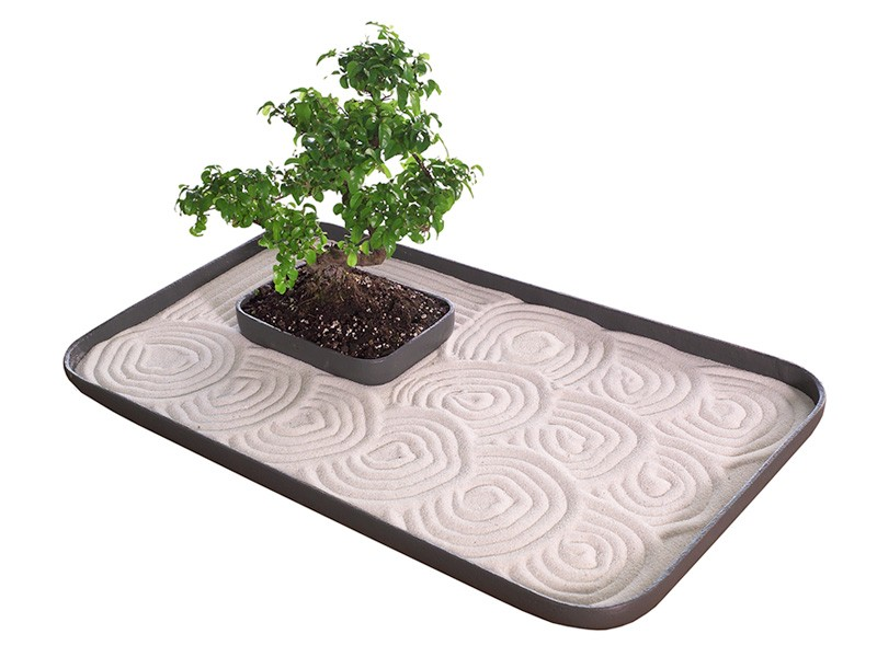 24 Inch Large Indoor Zen Garden Kit For Tabletop With Sand