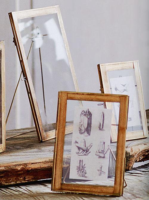 Stylish 4x65x78x10 Brass Picture Frames With Stand Nova68com