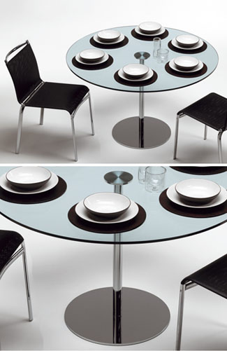 cedfae11dc68 Farniente Modern Dining Table by Tonelli Click to view additional images