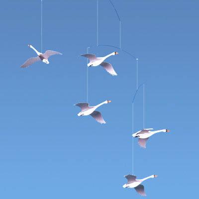 Flensted f 004 flensted 5 scandinavian swans 22 mobile - Flensted mobiles ...