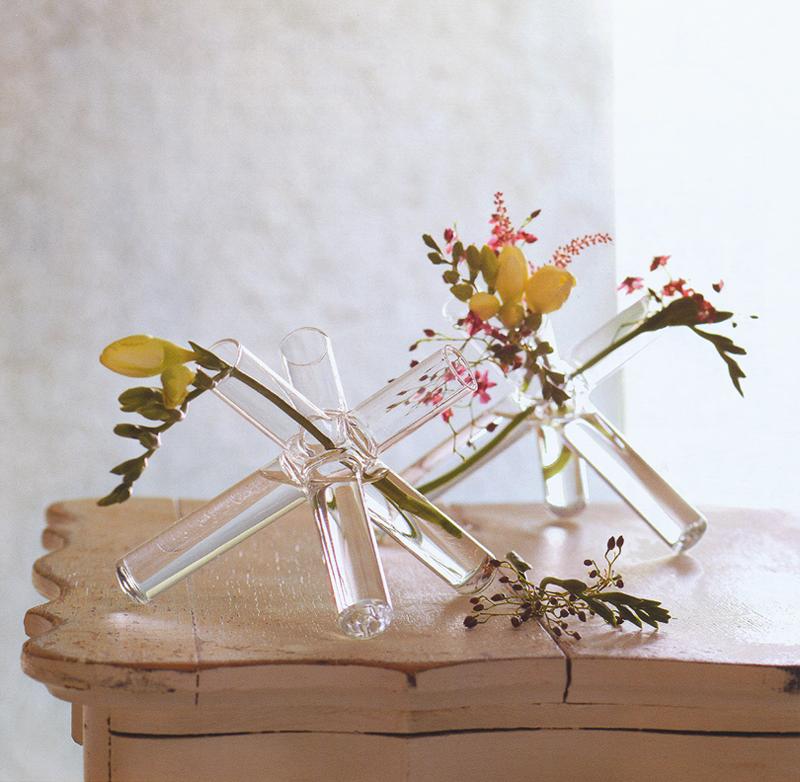 Modernist Ikebana Vases Starburst Glass Vase NOVA68com