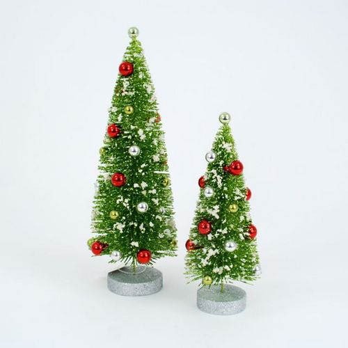 Fully Assembled 2 Pc No 235 L Christmas Small Tree Set Nova68 Com
