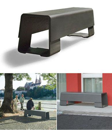 Der Bank Fiber Cement Modern Garden Bench