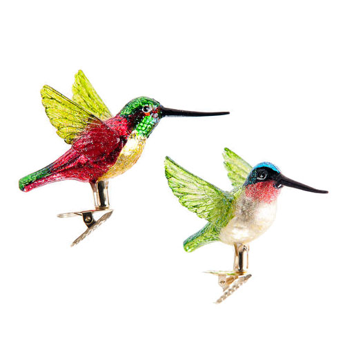 Hummingbird Ornaments For Christmas Trees NOVA68com