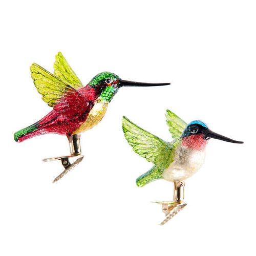 hummingbird ornaments for christmas trees | NOVA68.com