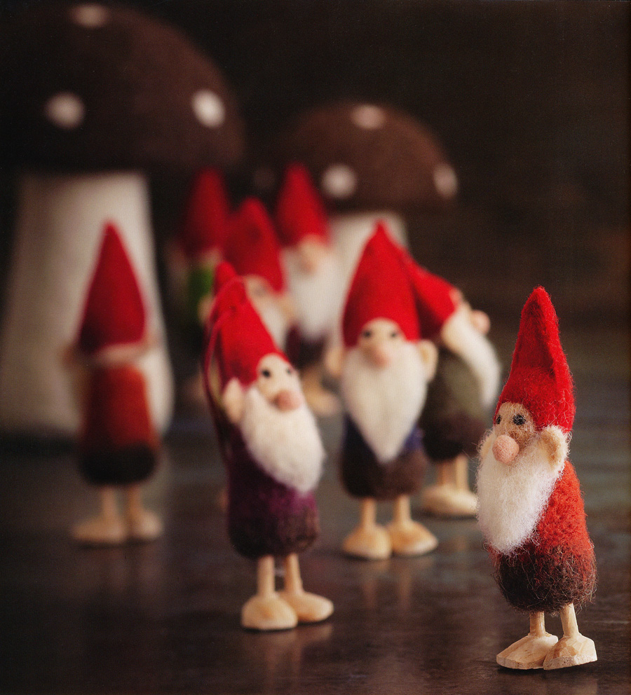 Fun Gnomes Family Christmas Tree Ornaments Set Of 12