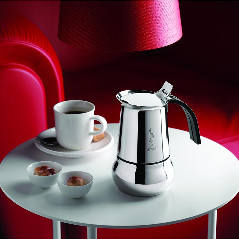Kitty 6 Cup Stainless Steel Espresso Maker By Bialetti