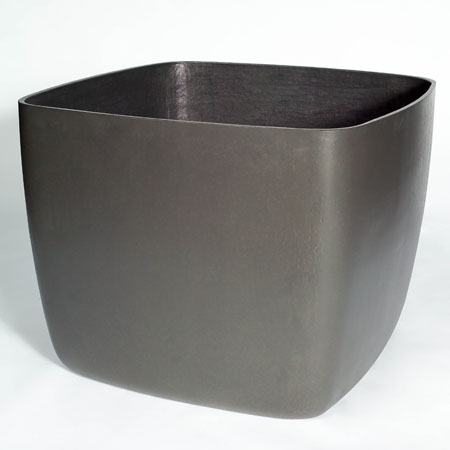 Osaka Large Square Garden Planter Plant Pot With Rounded