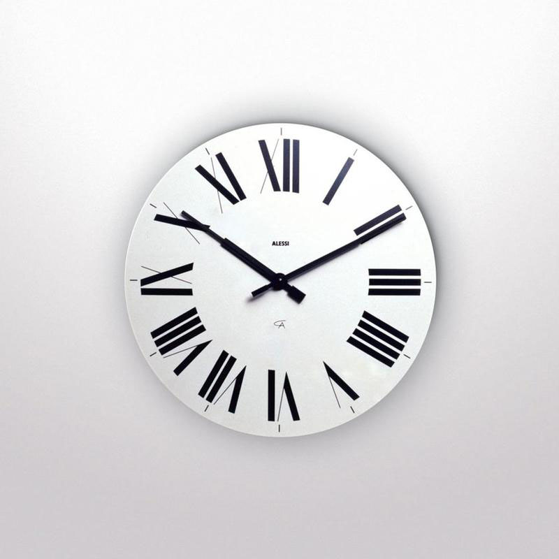 Alessi Classic Firenze 1425 Wall Clock with