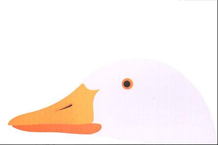 Enzo Mari Loca White Goose Modern Poster Nova68 Com