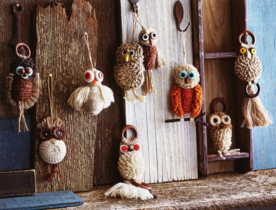 Macrame Owl Wall Hanging Ornaments Nova68 Modern Design