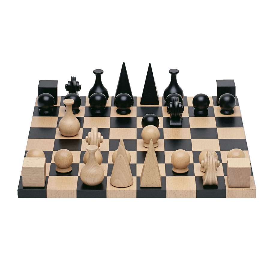 Man Ray Chess Pieces With Board For Sale Nova68 Modern