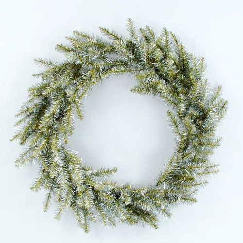 Large 32 Retro Modern Tinsel Wreath For Front Door