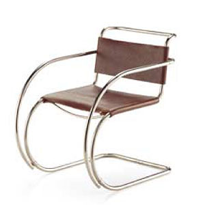 MR20 Miniature Mies van der Rohe Vitra Chair NOVA68 Modern Design