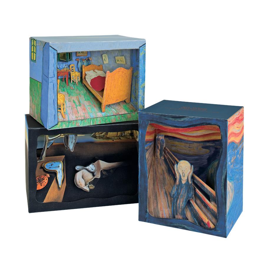 Edvard Munch The Scream Paper Diorama Decor Nova68 Com