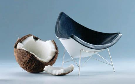 Nelson Coconut 1955 Vitra Miniature Chair