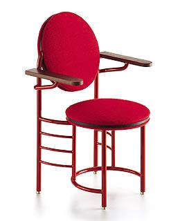 Johnson Wax Vitra Miniature Chair By Frank Lloyd Wright