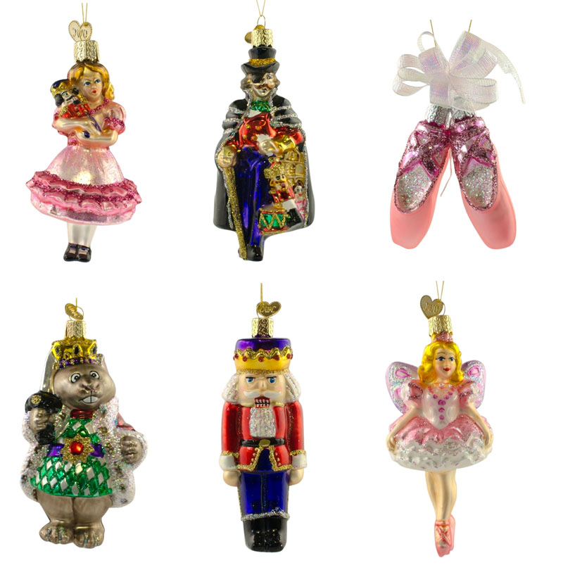 Nutcracker Ballet Ornament Set NOVA68com