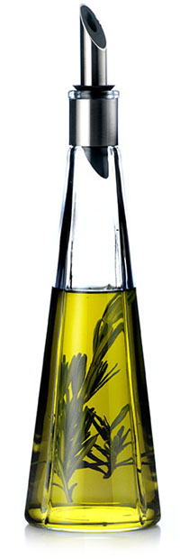 Olive Oil And Vinegar Cruet Bottle With No Drip Pourer