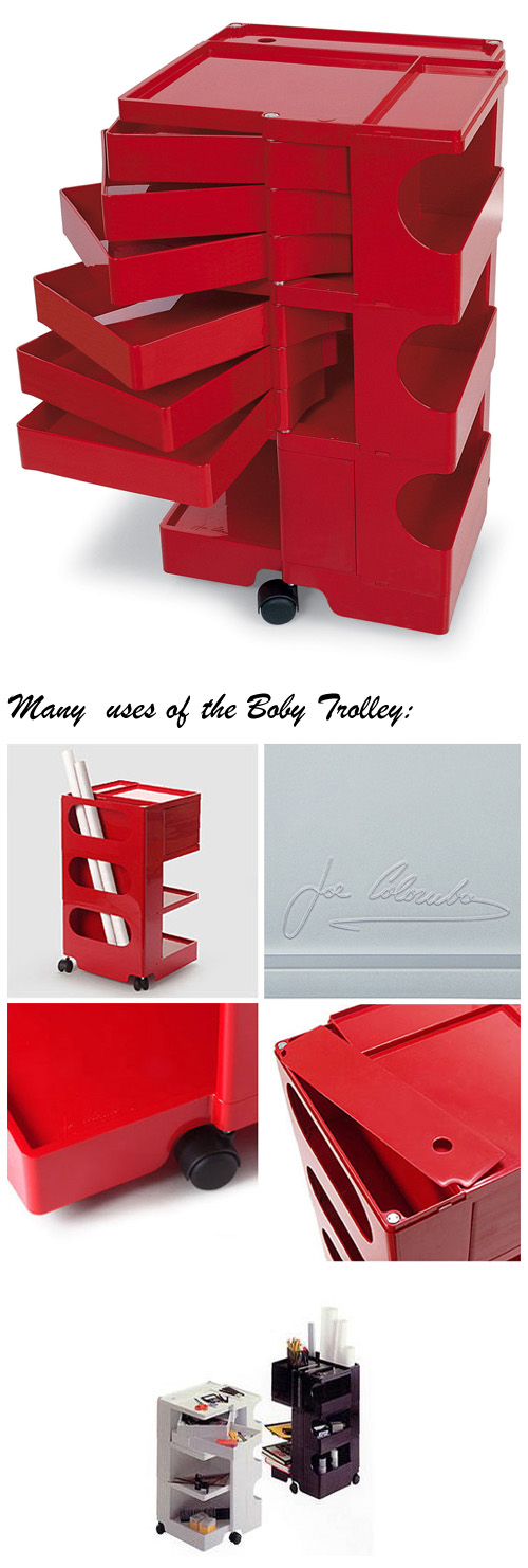 Boby Rolling Art Taboret and Supply Storage Cart on Wheels 3/6 Click to view additional images  sc 1 st  Nova68 & Boby Rolling Art Taboret and Supply Storage Cart on Wheels 3/6 ...