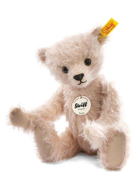 Steiff Mohair Lizzy Pink Teddy Bear 027260 Nova68 Com