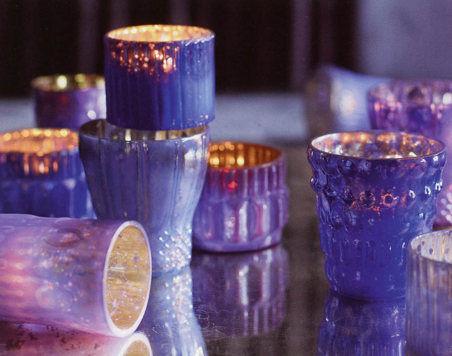 250 00 3 1 4 Inch Purple Mercury Gl Votive Candle Holder