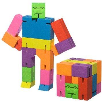 Rainbow Cubebot Toy Robot Nova68 Com