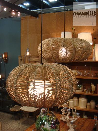 Maori Modern Wicker Saucer Pendant Lamp Nova68 Com