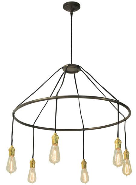 round edison bulb chandelier - Edison Chandelier