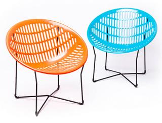 Solair Chair Mid Century Modern Patio And Garden Chair Set Of 2 NOVA68 Mo