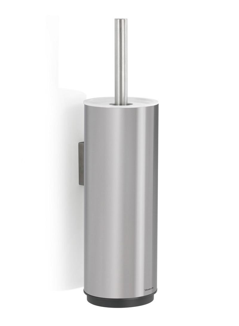 Bathroom Accessories Blomus Sento Wall Mounted Toilet Brush Steel