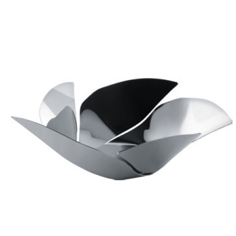 Alessi Twist Again Steel Fruit Bowl Stainless Steel