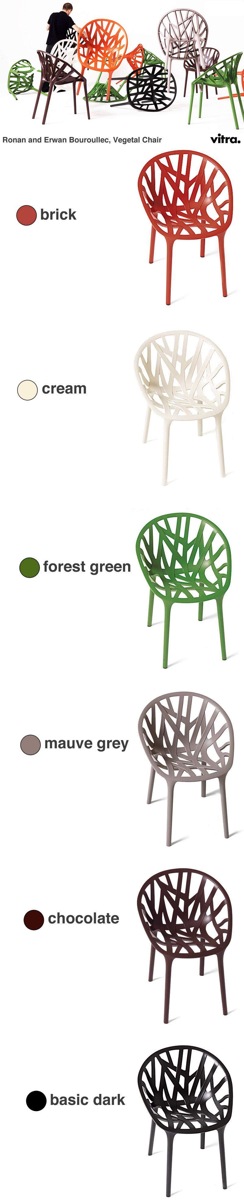 ronan erwan bouroullec vegetal chair indoor outdoor. Black Bedroom Furniture Sets. Home Design Ideas