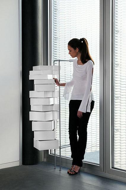 Office Furniture Spinny Organizer Storage Cabinet Drawers