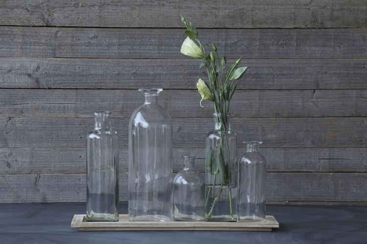 Long glass centerpiece vases wedding table decorations - Glass vases for wedding table decorations ...