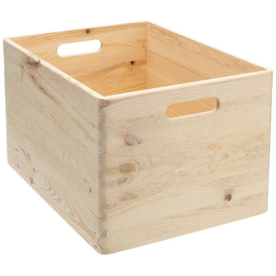 Large Wood Closet Organizer Storage Box 15 34 L X 11 W 10 H NOVA68com