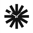 george_nelson_asterisk_clock_black