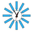 george_nelson_block_clock