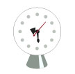 george_nelson_cone_base_clock